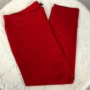 Plus Size SOHO Tomato Red Pants